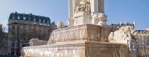 Fontaine des Orateurs Sacrés de la place Saint Sulpice