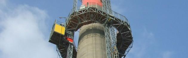 Cheminée de cokerie Arcelor
