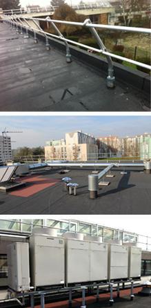 Etanchéité toiture terrasse Sécurisation