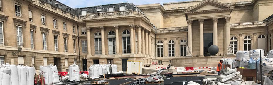 Palais Bourbon - Une