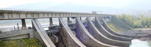 Réparation de béton - Barage de l'Escale - Une